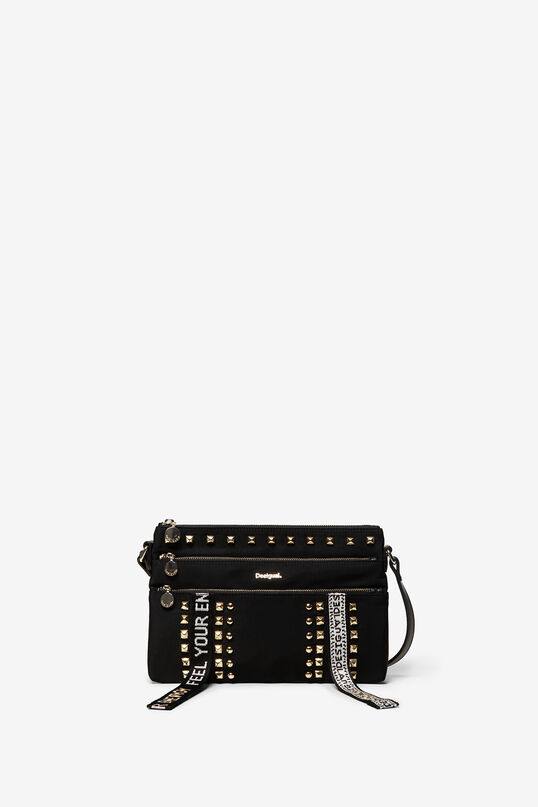 Small stud messenger bag | Desigual