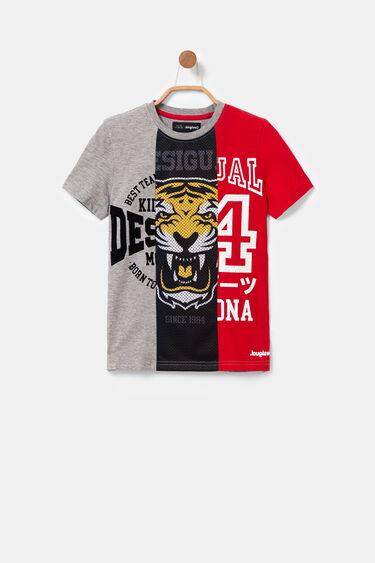 バスケモチーフ 3色Tシャツ | Desigual