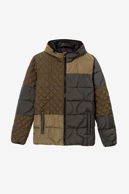 Jaqueta curta de plomes | Desigual