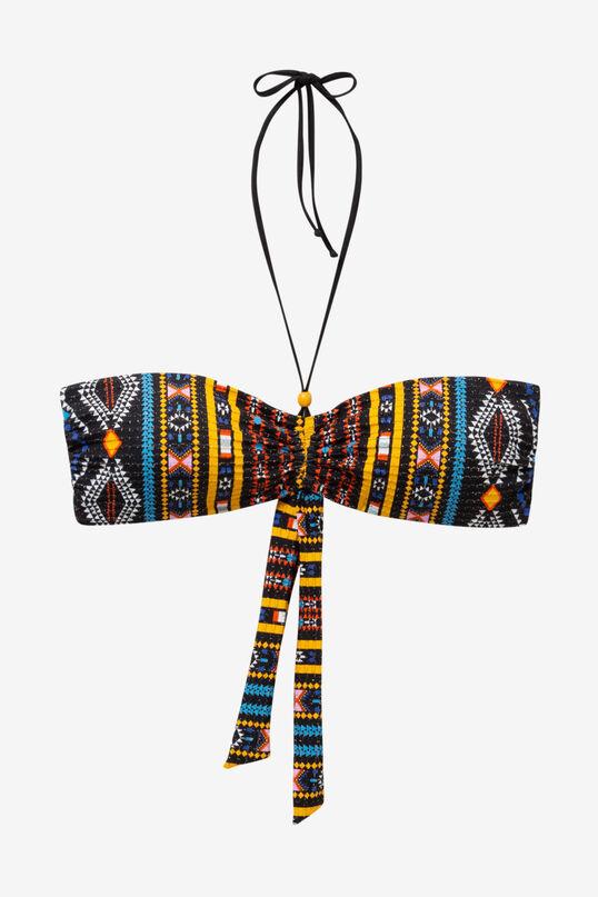 African Slim Bikini Top Zoe | Desigual