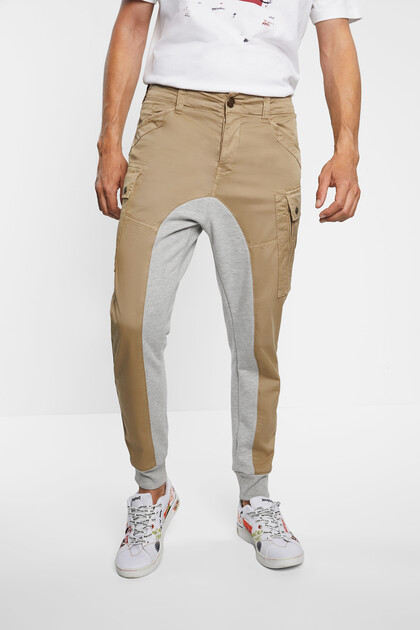 Cargo trousers hybrid