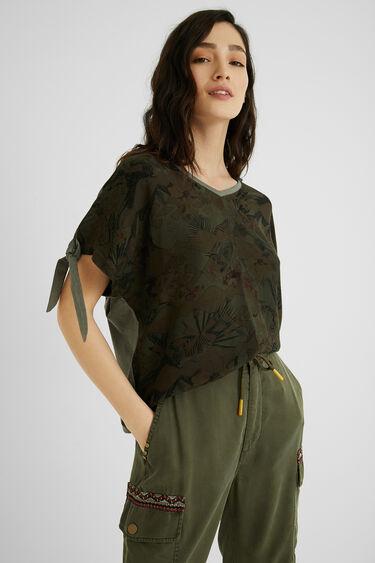 Tropical T-shirt bows | Desigual