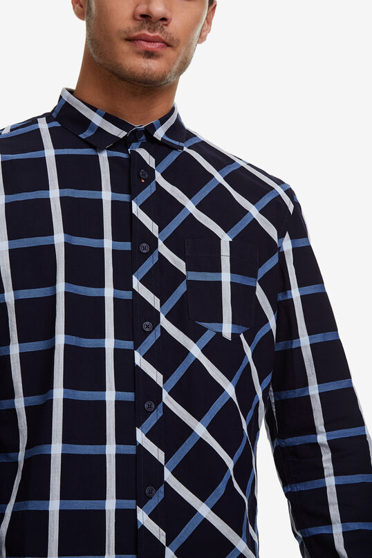 Checks and diamonds shirt | Desigual