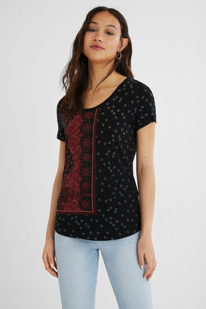 T-shirt short sleeve mandalas