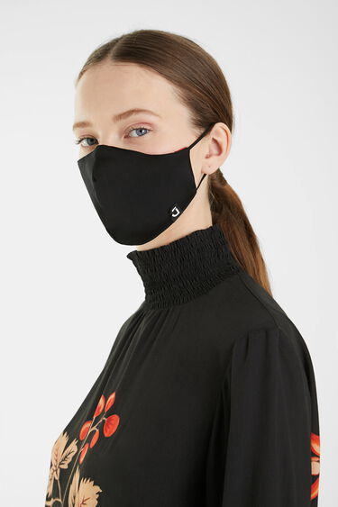 Masque fleurs + housse | Desigual