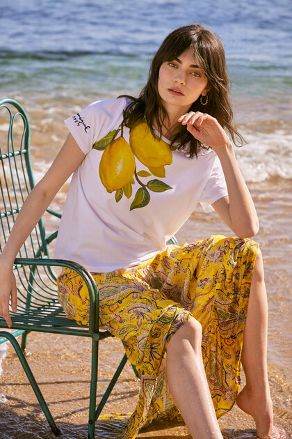 Lemons T-shirt 100% cotton