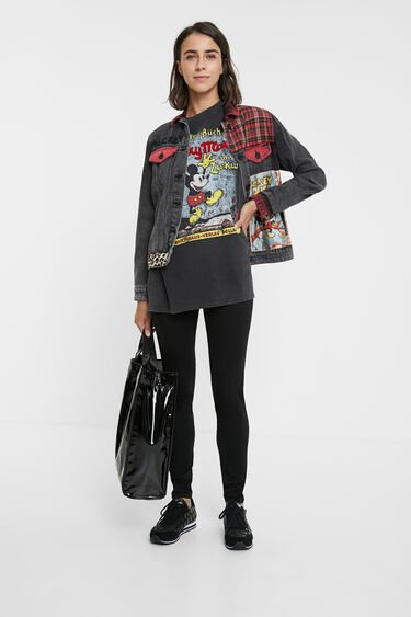 Mickey Mouse Oversize T Shirt Desigual Com