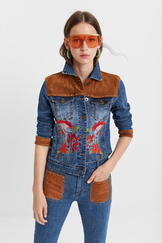 Giacca denim country