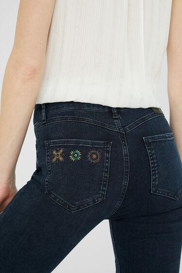 Skinny fit ankle grazer jeans | Desigual