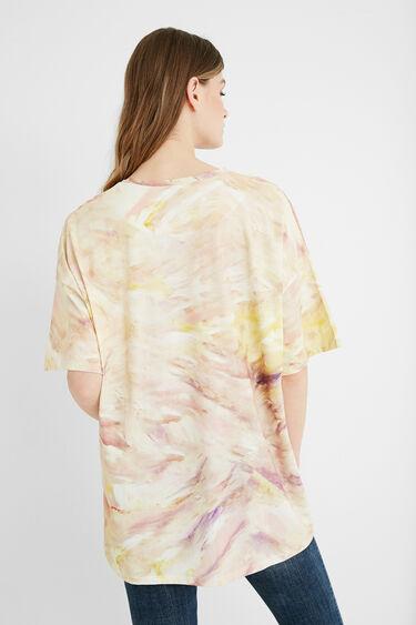 Katoenen T-shirt met illustratie | Desigual