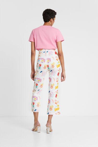 Capri trousers print | Desigual