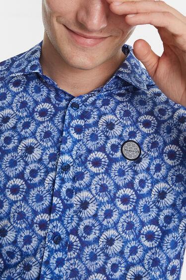 Casual microfloral shirt | Desigual