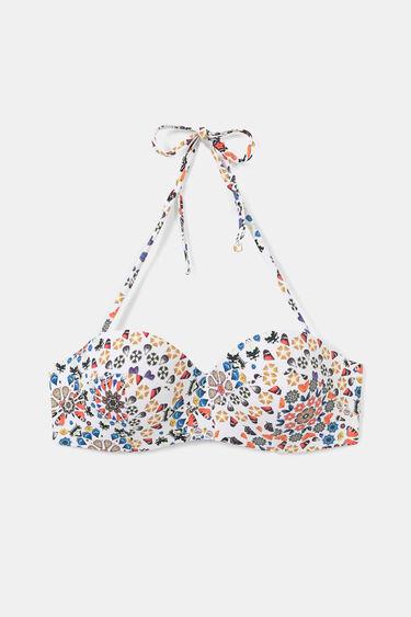 Bandeau bikini top | Desigual
