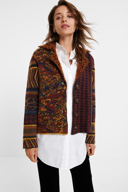 Boho knit jacket