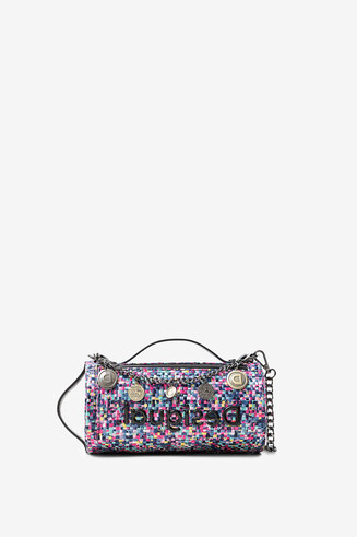 Braided multiposition bag