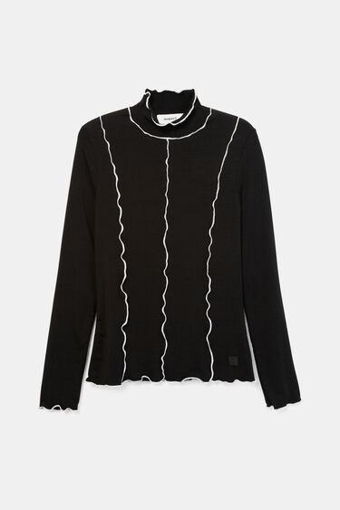 Slim T-shirt piping | Desigual