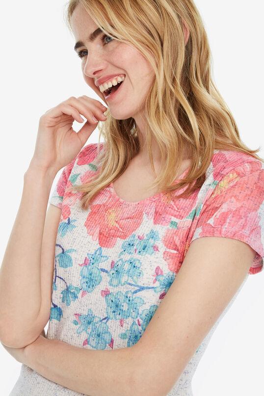 Shirt mit geblümter Passe Florentina | Desigual