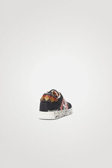 Baskets jean Mickey Mouse | Desigual