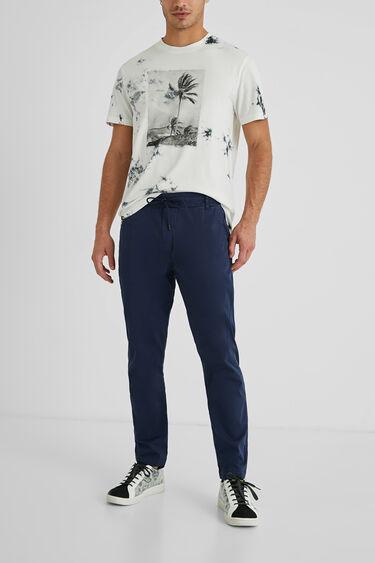 Pantalon homme slim cordon | Desigual