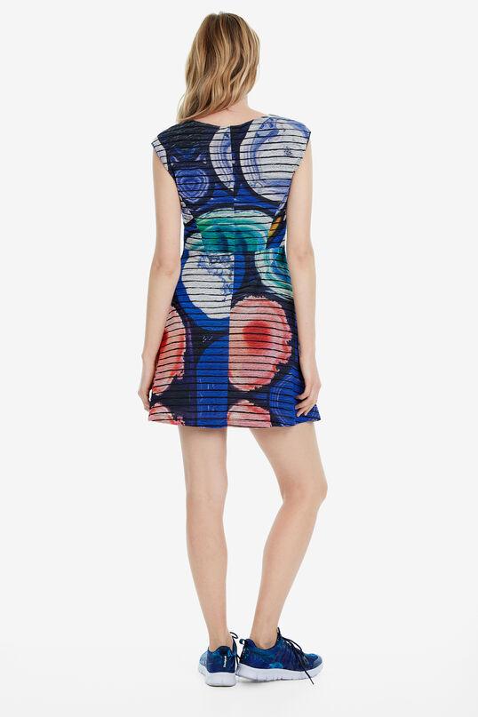 Naive stone-print mini dress Mineral | Desigual