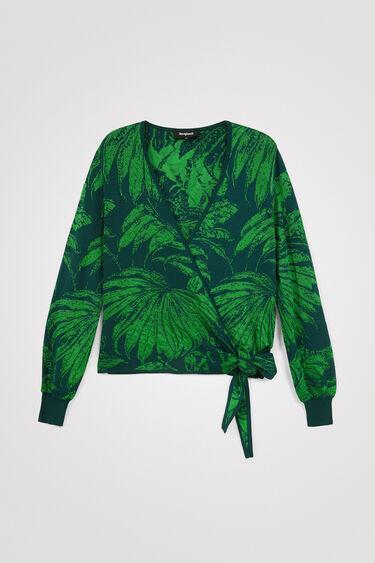 Tropical jacquard jumper | Desigual