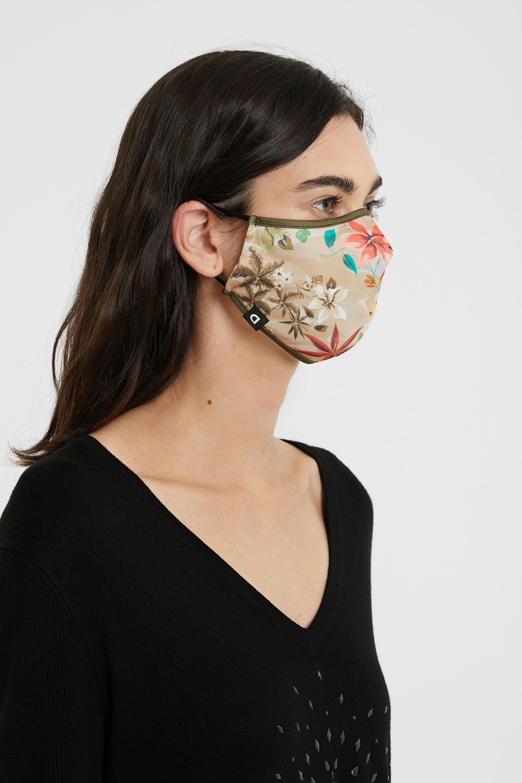 Mascherina camoflower e reversibile | Desigual