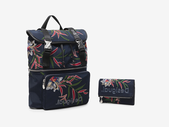 Backpack and wallet set