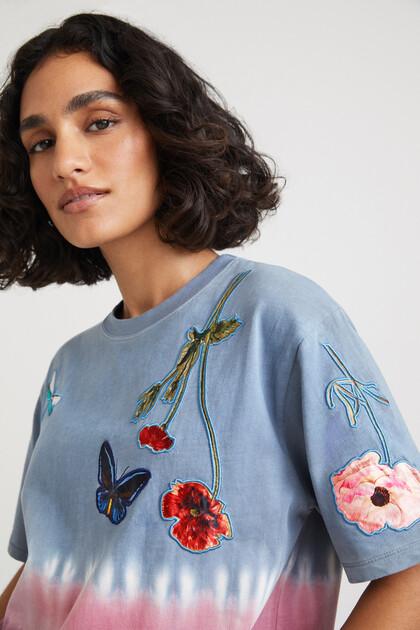 Shirt Batik Blumen