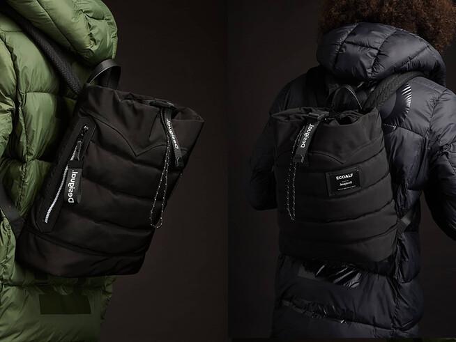 Ecoalf roll-up backpack