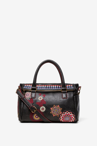 Sac mallette brodé Chandy Loverty