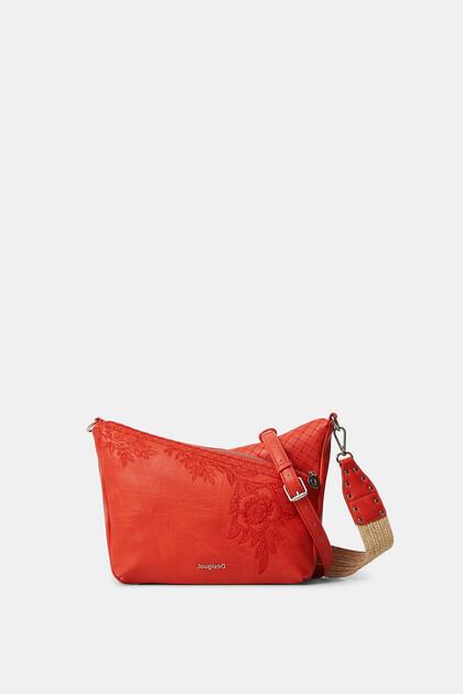 Floral crossbody bag