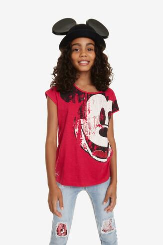 Camiseta fucsia Mickey Earwig