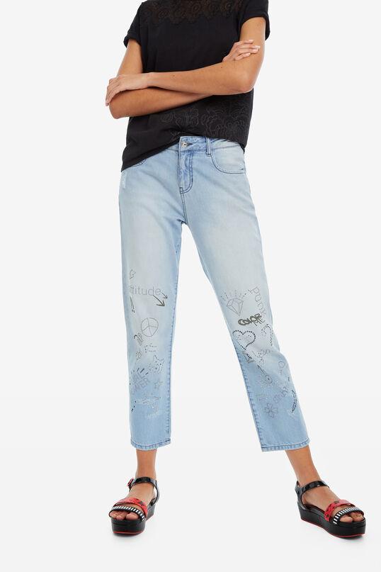 Pantalon denim bolimanie Lua | Desigual