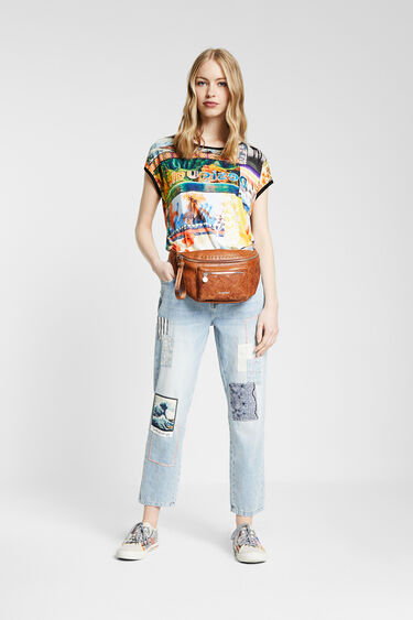 Multicolour T-shirt | Desigual