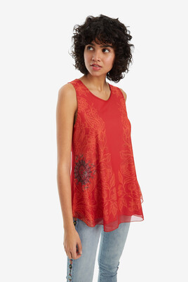 Galactic double-layer T-shirt Alma