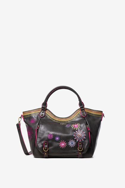 Mandalas and sequins bag