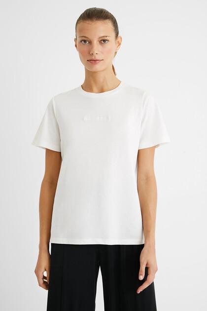 T-shirt mandala crochet