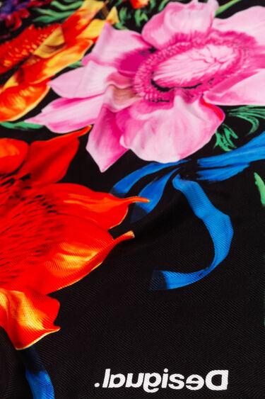 Foulard rectangulaire floral Designed by M. Christian Lacroix | Desigual