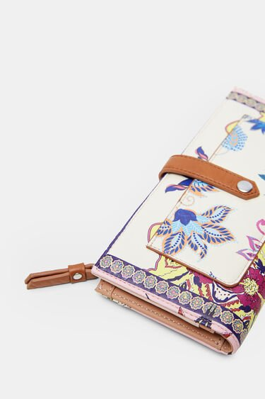 Long coin purse paisley | Desigual