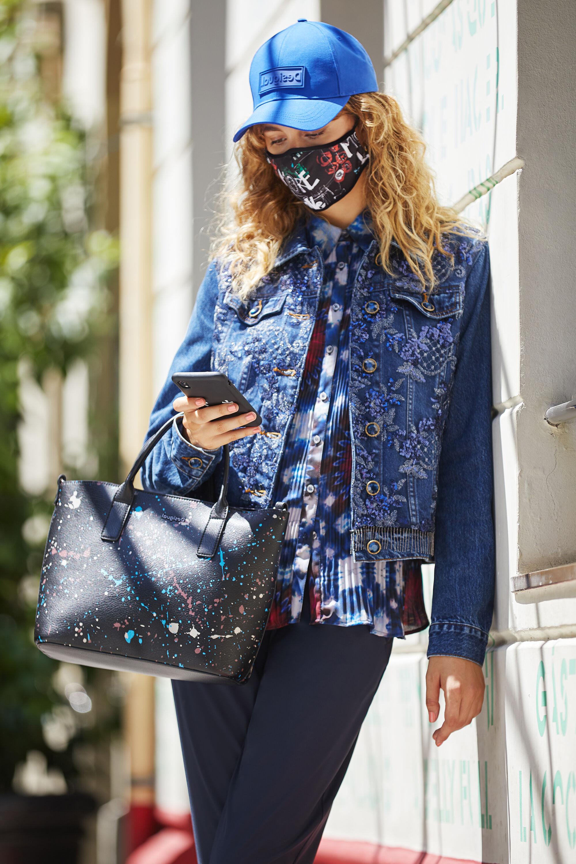 Giacca di jeans ricamo floreale | Desigual