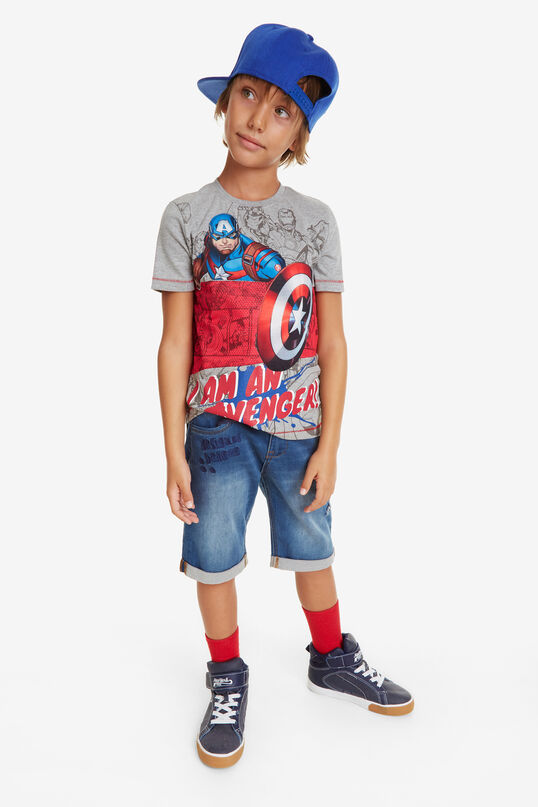 Shirt Marvel Captain   Desigual