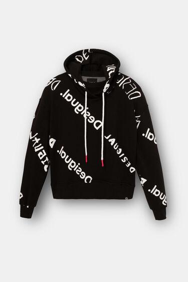 Plush sweatshirt logomania | Desigual