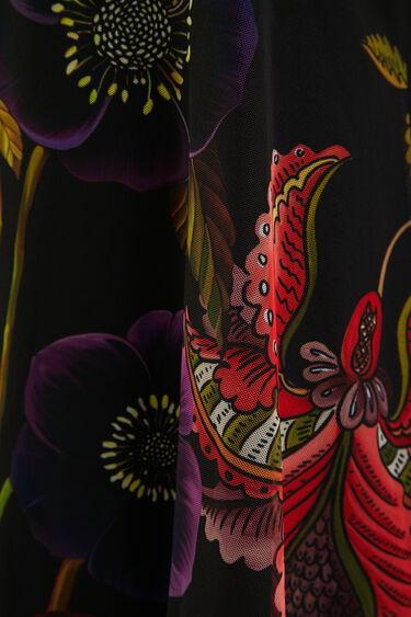 T-shirt sans manches fleuri | Desigual