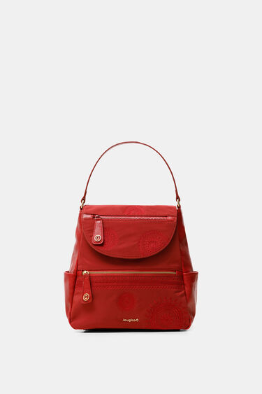 Trapeze silhouette medium backpack | Desigual