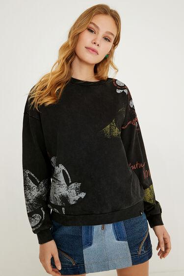 Minnie Mouse plush sweatshirt | Desigual