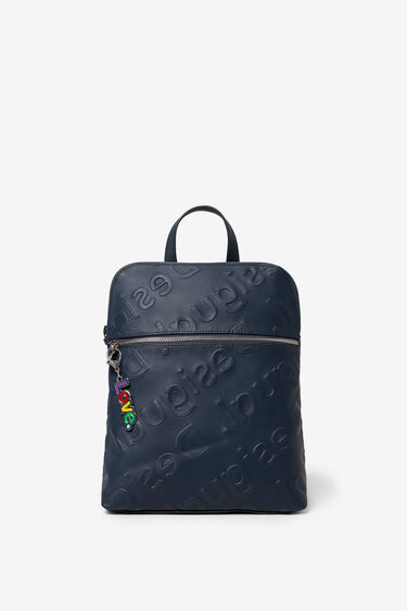 Logo in relief backpack | Desigual