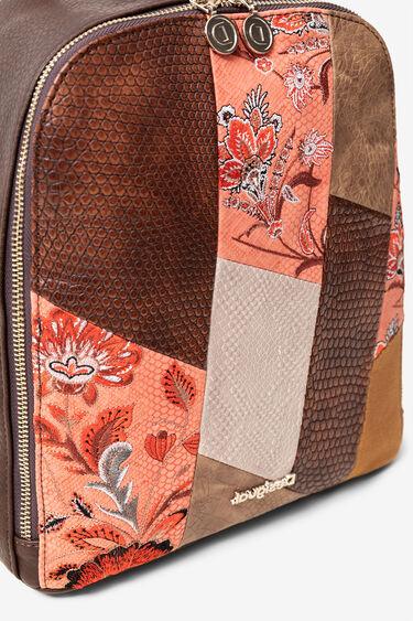 Boho-Rucksack mit Mandalas und Blumen | Desigual