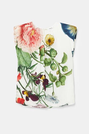 Sleeveless print T-shirt | Desigual