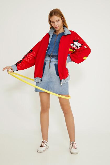 Iconic oversized denim jacket