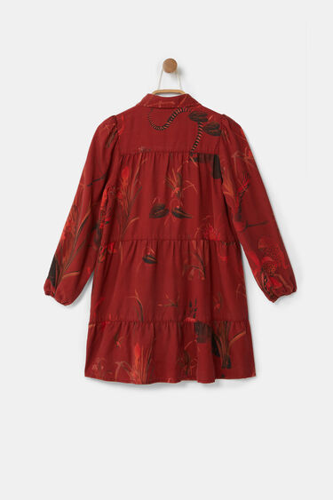 Short shirt dress Lyocell | Desigual